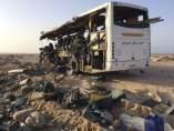 Accidente de autobús en el Sinaí