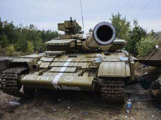 Tanque en Ucrania