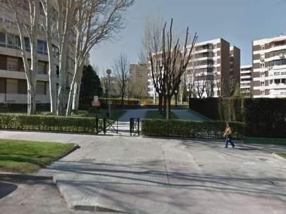 Parque en la calle Torquemada