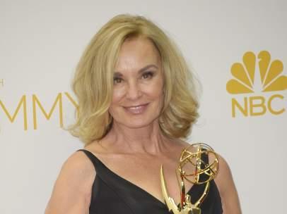 Jessica Lange, con un Emmy de horror