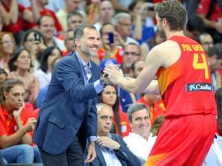 España barre a Argentina en el último amistoso