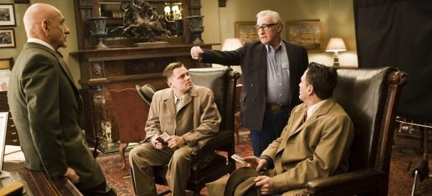 Scorsese en el rodaje de Shutter Island