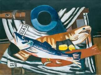 'Gro�es Fisch-Stillleben', 1927