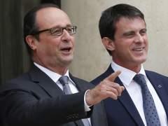 Hollande y Valls