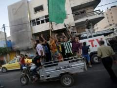 Celebraciones en Gaza