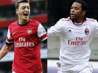 Özil, Robinho e Higuaín