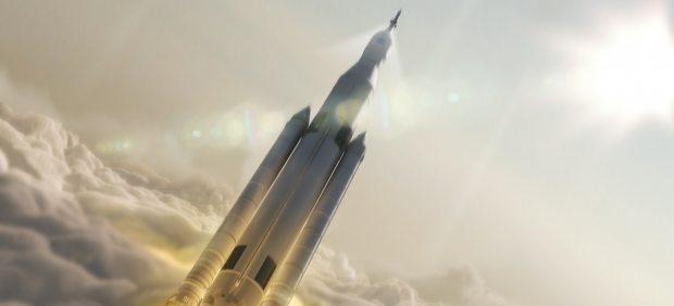 Cohete Sistema de Lanzamiento Espacial (SLS)