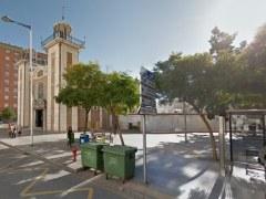 Plaza de la Iglesia del Roc�o, en Huelva
