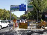 Obras de pavimentación en Madrid