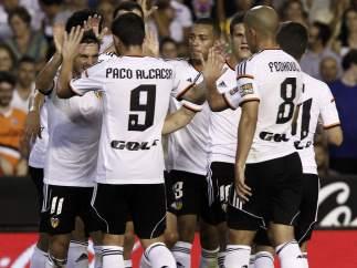 Gol del Valencia