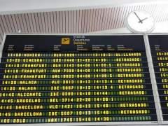 Vuelos retrasados en Bilbao