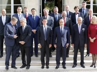 Reuni�n de l�deres socialdem�cratas europeos