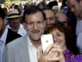 Selfie de Rajoy