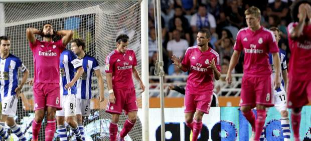 Desastre del Real Madrid