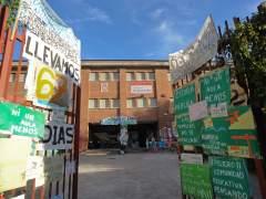 Encierro en un colegio p�blico de Fuenlabrada