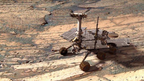 El Opportunity sobrevive a su 8º invierno marciano