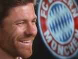 Presentaci�n de Xabi Alonso como jugador del Bayern