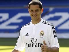 El Real Madrid presenta a Chicharito Hern�ndez
