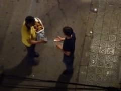 Venta ambulante en Barcelona