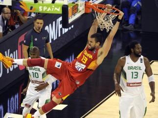 Brasil - España en el Mundobasket 2014