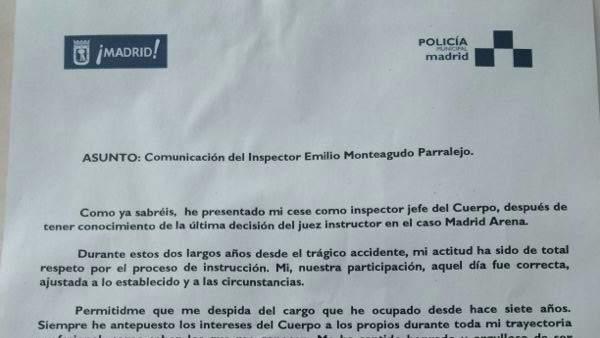Carta de Emilio Monteagudo