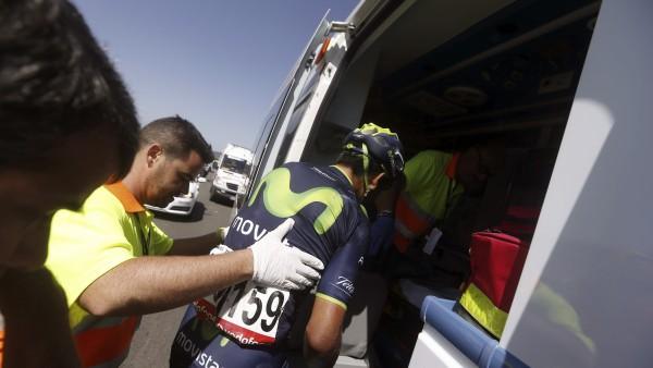 Nairo Quintana abandona la Vuelta a España 2014