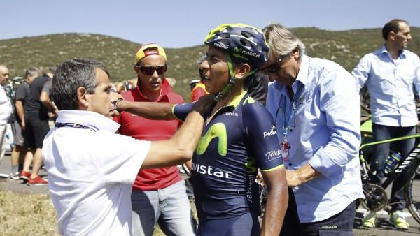 Nairo Quintana abandona la Vuelta 2014