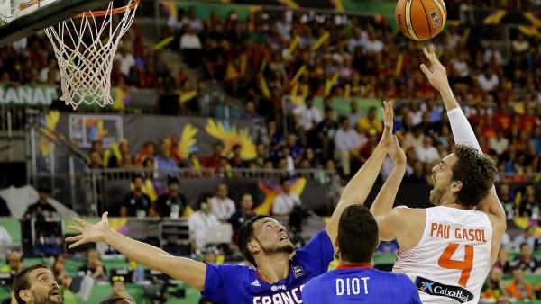 España-Francia en el Mundobasket 2014