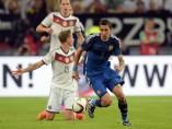 Amistoso entre Alemania y Argentina