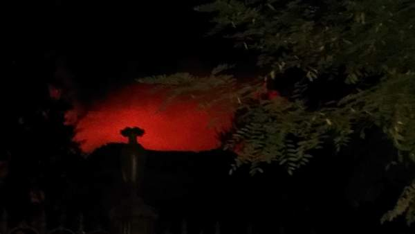 Incendio Granada