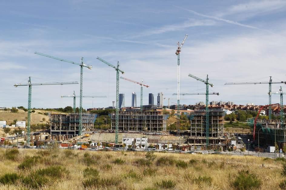 La construcci n de viviendas se reactiva en madrid con un - Empresas de construccion en madrid ...