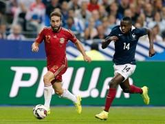 Amistoso entre Francia y España