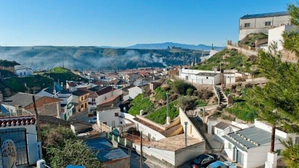 Vista de Cúllar, Granada
