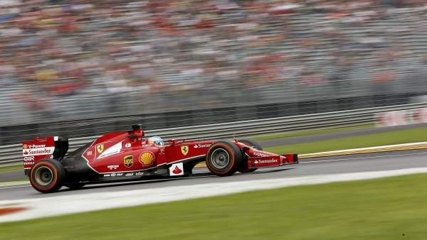 Alonso en Monza