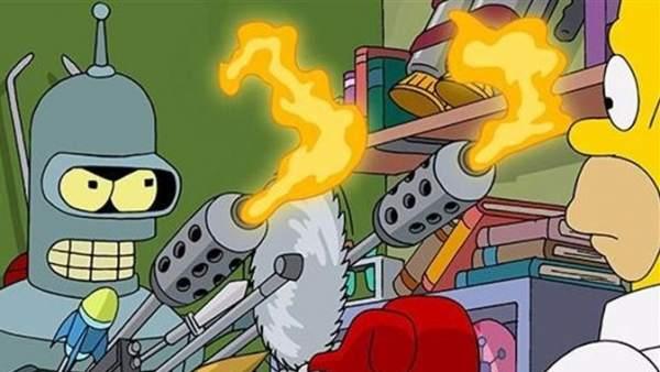 Fender contra Homer.