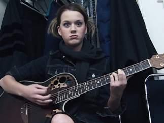 Katy Perry con 16 años