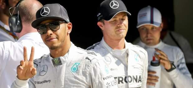 """Rosberg, sobre Hamilton: """"La tensión sube porque faltan cinco carreras"""""""