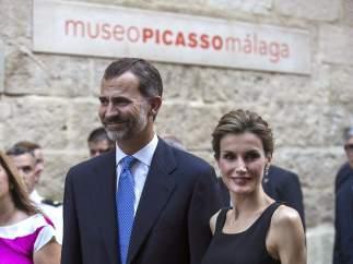 Los reyes en Málaga