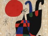'Painting (Figures and Dog in Front of the Sun)', 1949