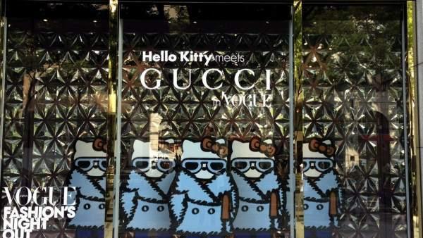Tienda de Gucci en Tokio.