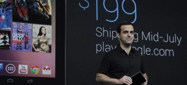 Presentación de Google Nexus 7.