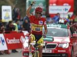Alberto Contador se impone en La Farrapona