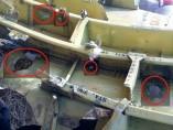 Agujeros en el fuselaje del MH17