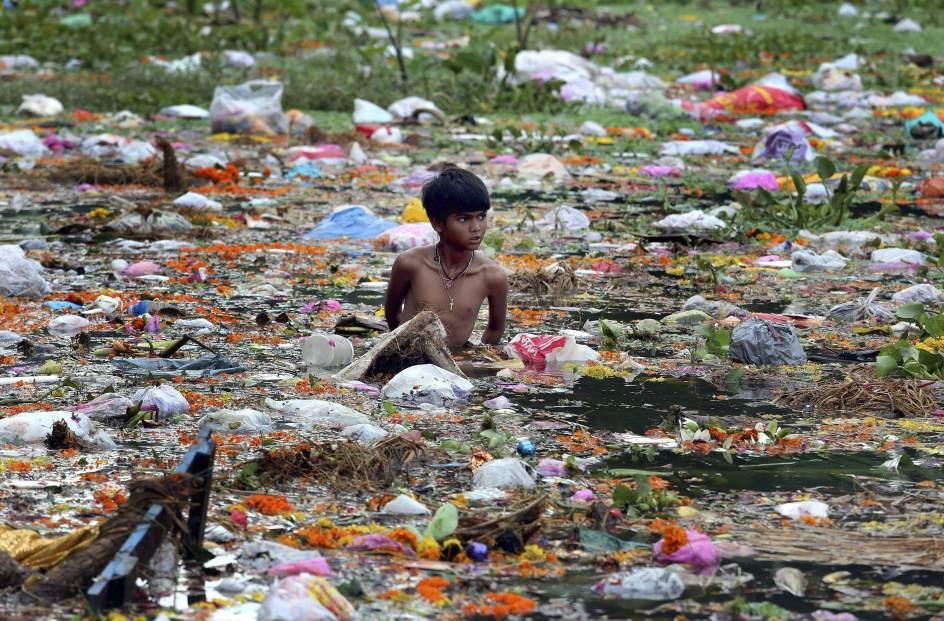 Clausura del festival Ganesh