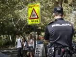 Seguridad policial en zonas escolares