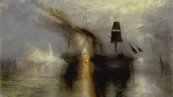 'Peace - Burial at Sea', 1842