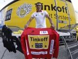 Alberto Contador, líder de la Vuelta 2014