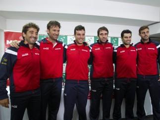 Equipo español para la Copa Davis