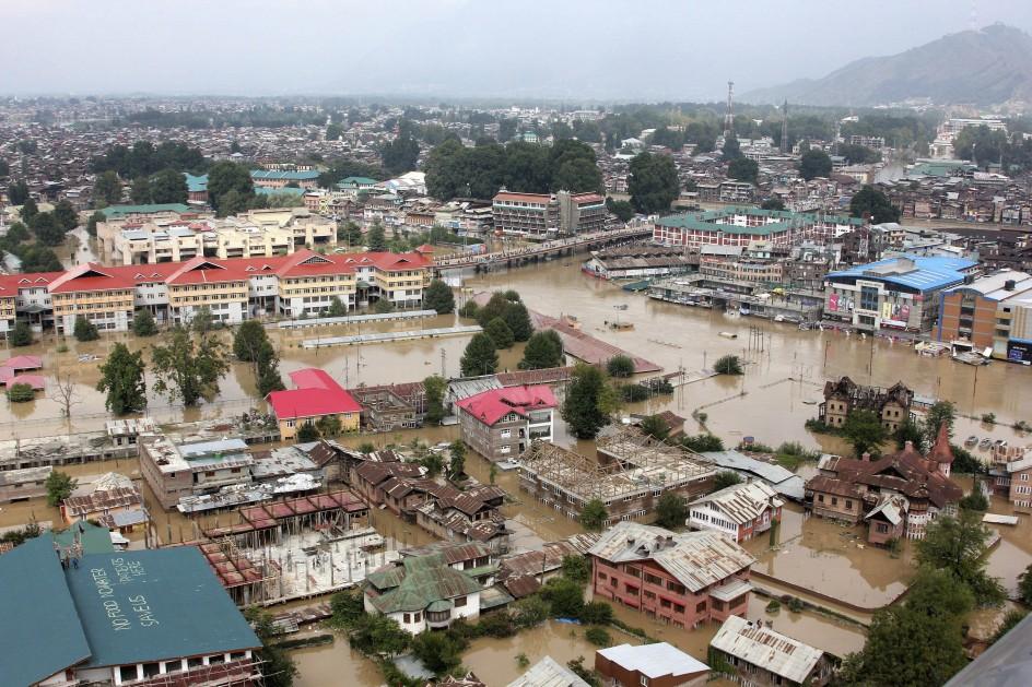 Situación en Srinagar