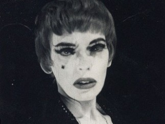 Cameron, Photograph of Cameron as the Scarlet Woman in Kenneth Anger's Inauguration of the Pleasure Dome, 1956